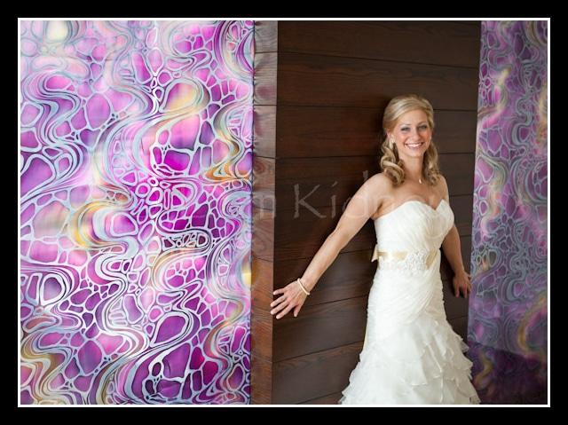 Beautiful bride in the Sheraton Hotel in Athlone