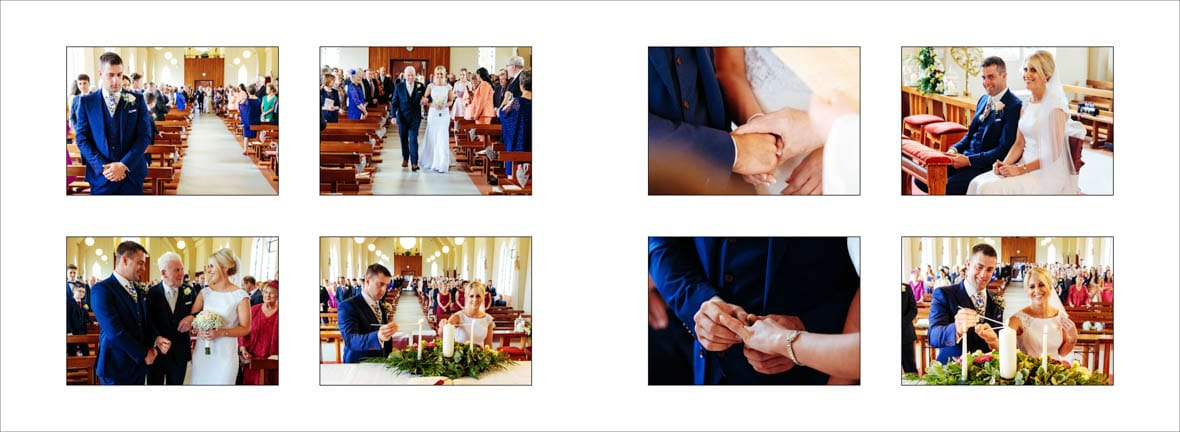The wedding of Rita and Paul in Kilteevan Church Co Roscommon 3
