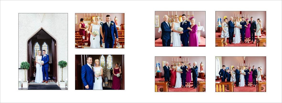 Kilteevan Church Wedding Ceremony 1
