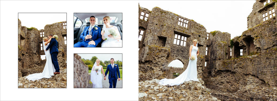 Bride Photos in Roscommon Castle Wedding Photos