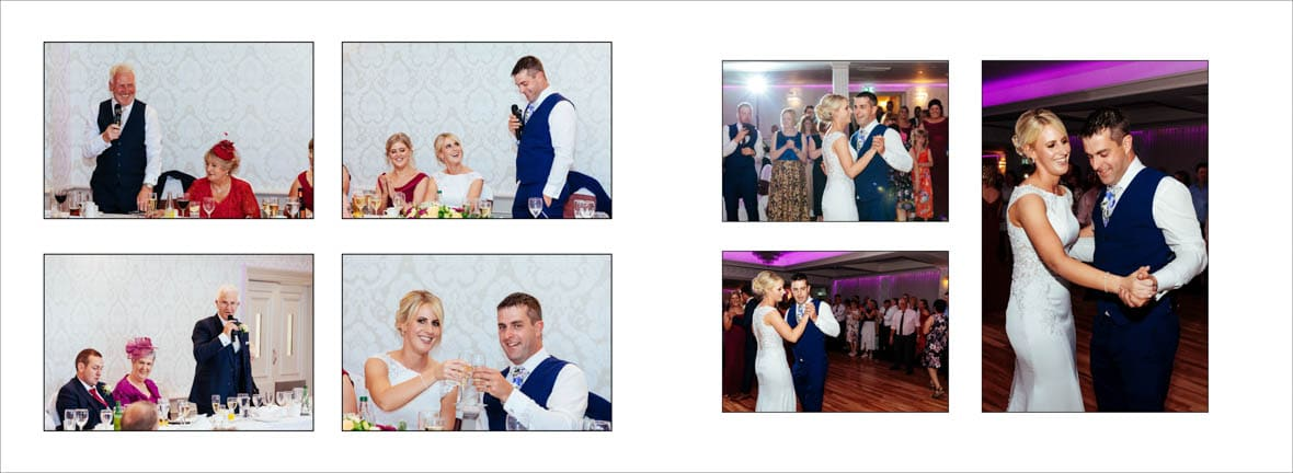 First dance in the Abbey Hotel Wedding in Roscommon