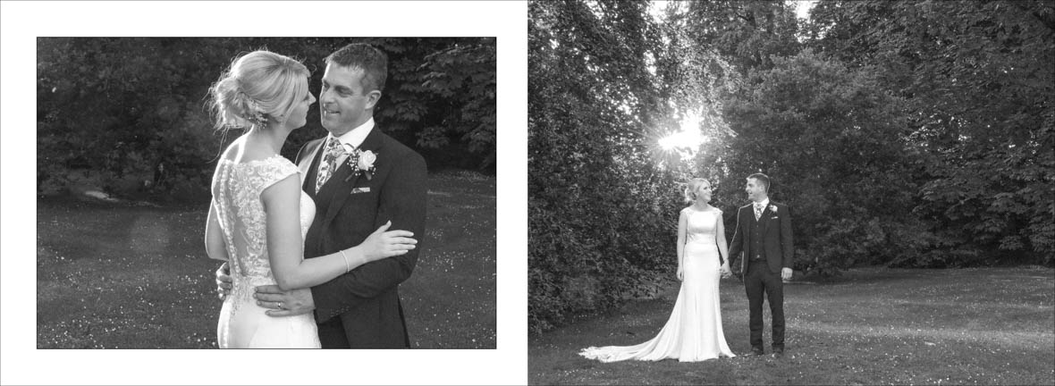 beautiful sunset in the Abbey Hotel Wedding in Roscommon