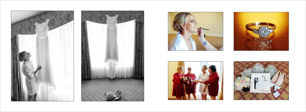 Roscommon Bride Digital Wedding Album Sample