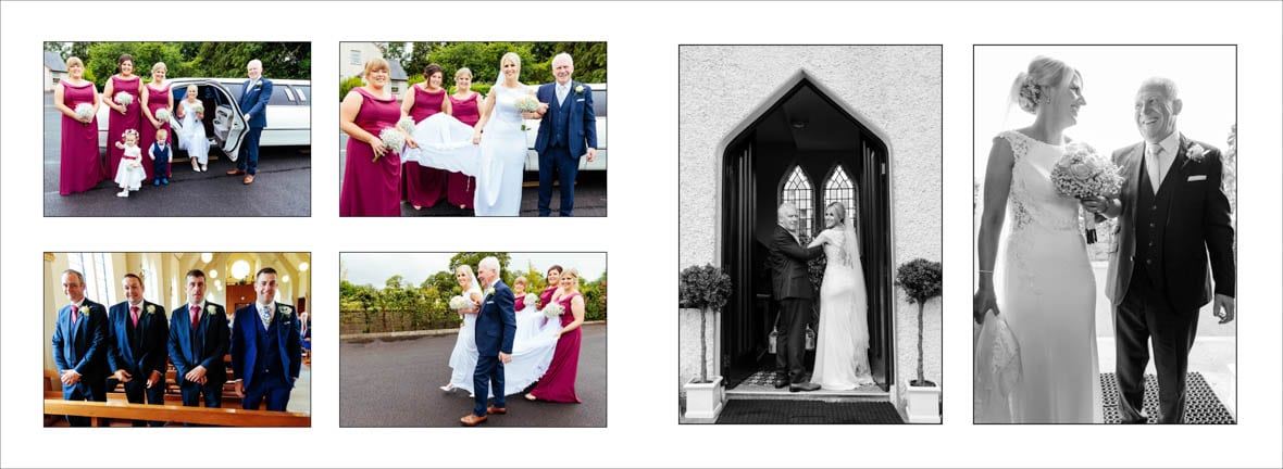 The wedding of Rita and Paul in Kilteevan Church Co Roscommon 4