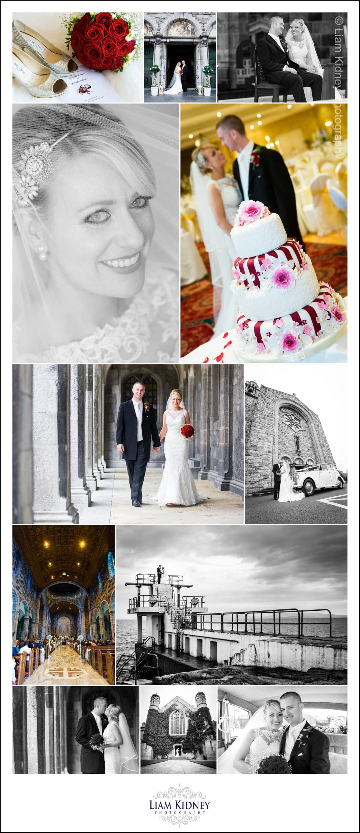 Wedding of Brendan and Debbie, Galway Cathedral, Galway Bay Hotel