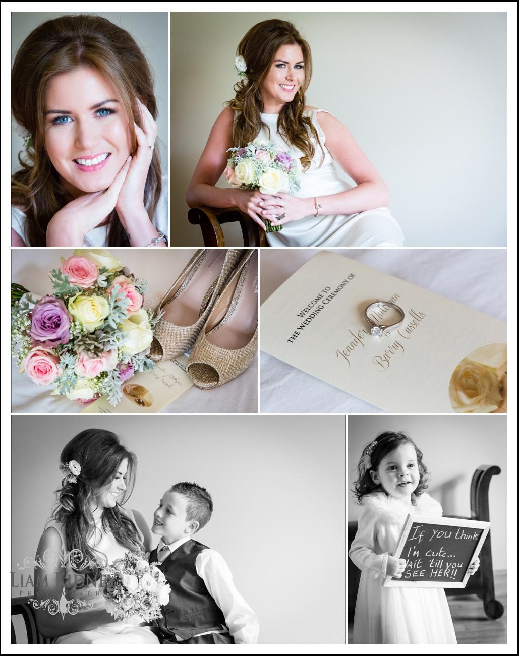 Wedding Photography Athlone: Wedding Of Jenny & Barry, Tubberclair Church, Shamrock