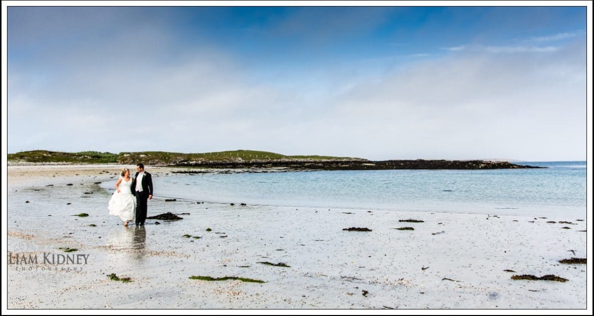 Wedding of Selina and Tomás, Inishbofin Church, Inishbofin House Hotel |Galway Photographer