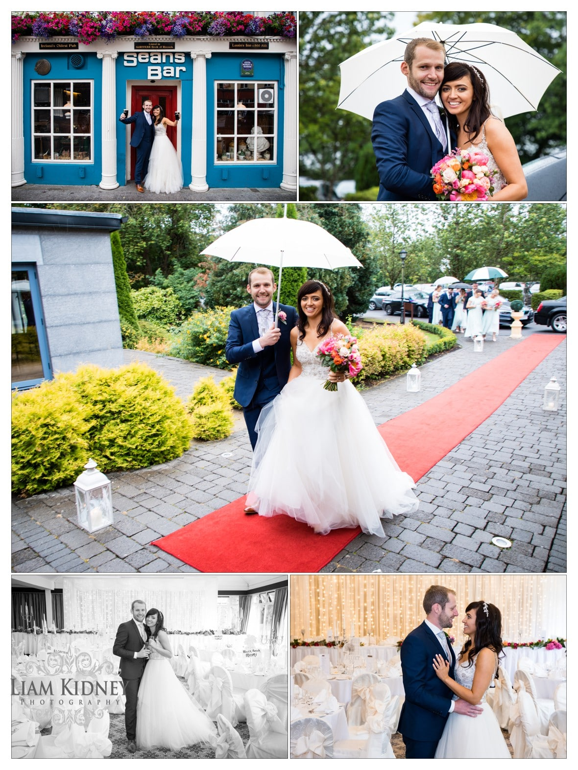 Shamrock Lodge Hotel Wedding in Athlone