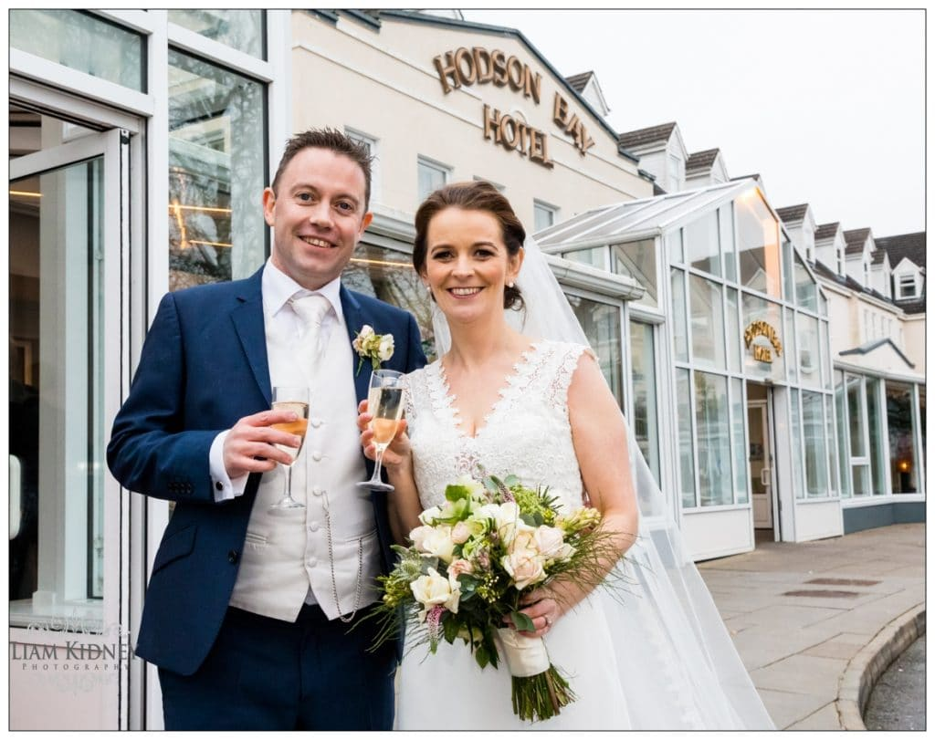 Couple at the Hodson Bay Hotel in Athlone