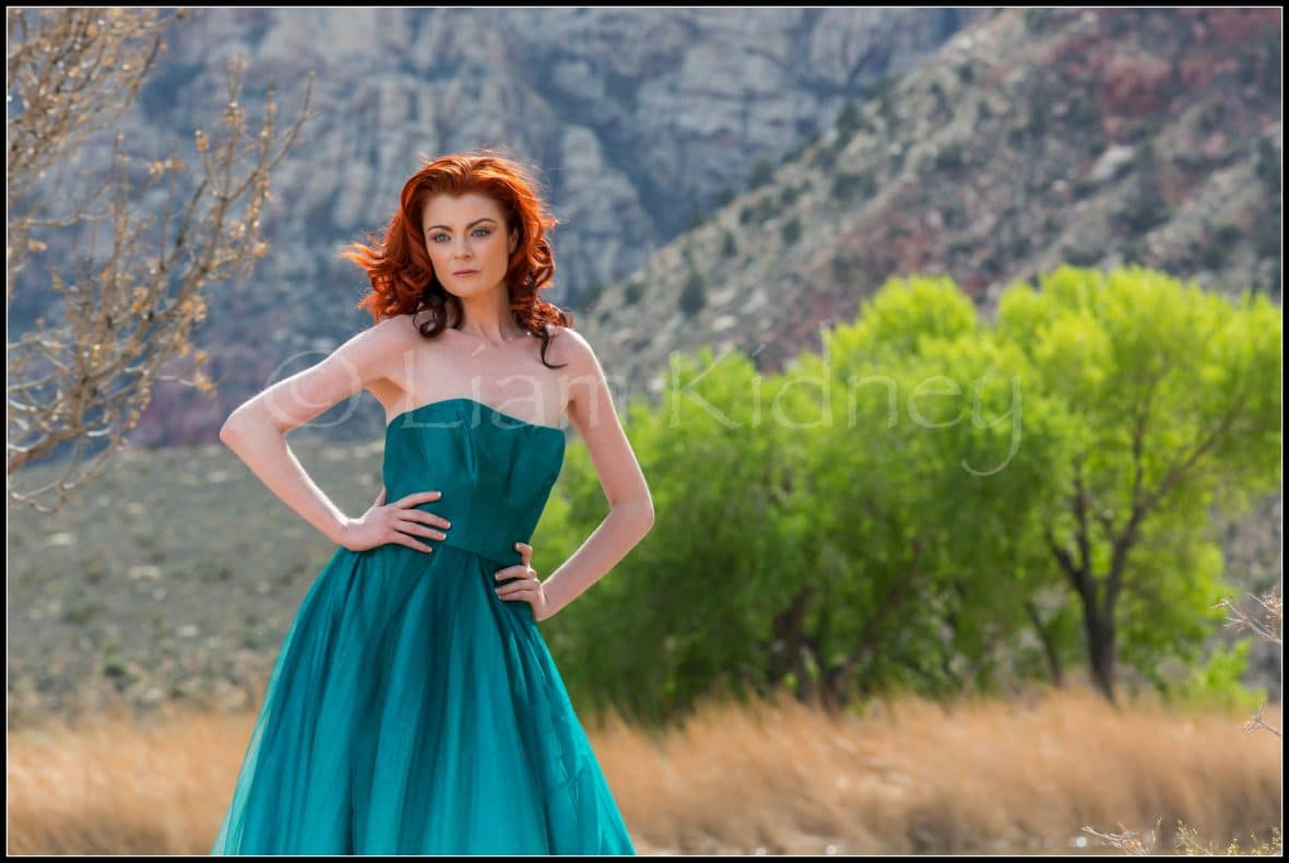 Fashion Shoot In Spring Mountain Ranch State Park, Nevada