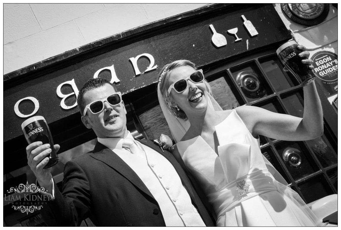 Grogan's Pub in Glasson Wedding Photos