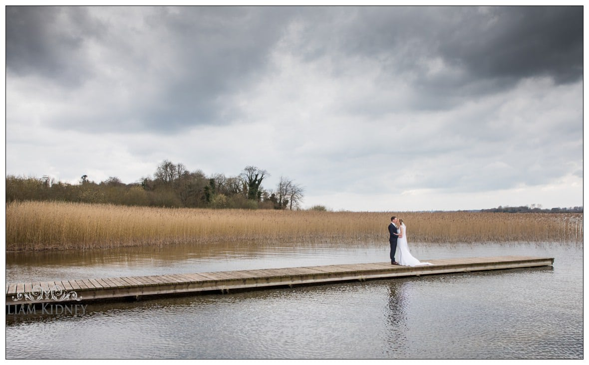 Patricia & Thomas in Bloomfield House Hotel Wedding by the lake