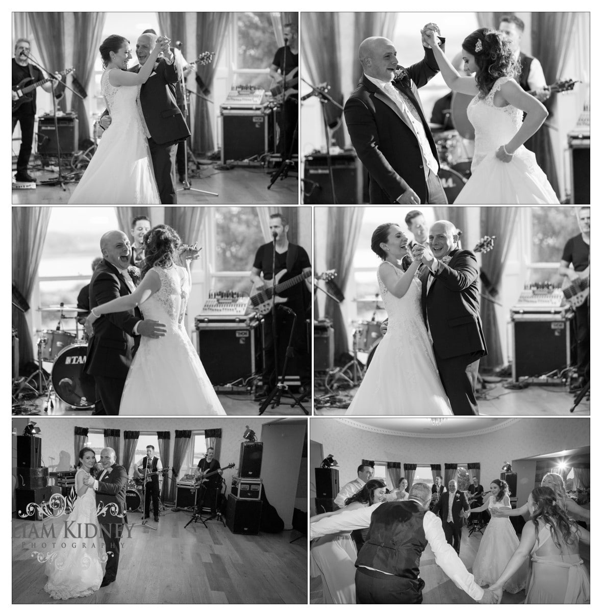 Kasia And Stan first dance at their Glasson Country House Hotel Wedding, Athlone, Co. Westmeath
