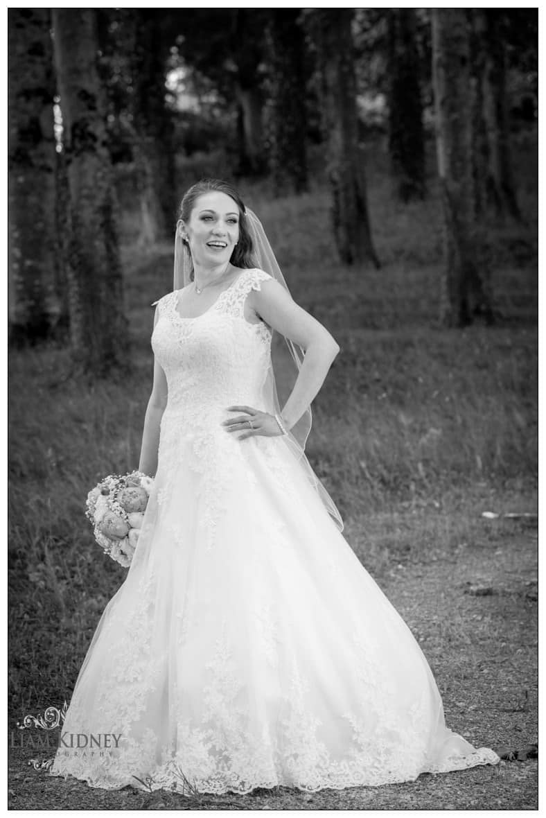 Stunning Bride Kasia at Glasson Country House Hotel Wedding, Athlone, Co. Westmeath