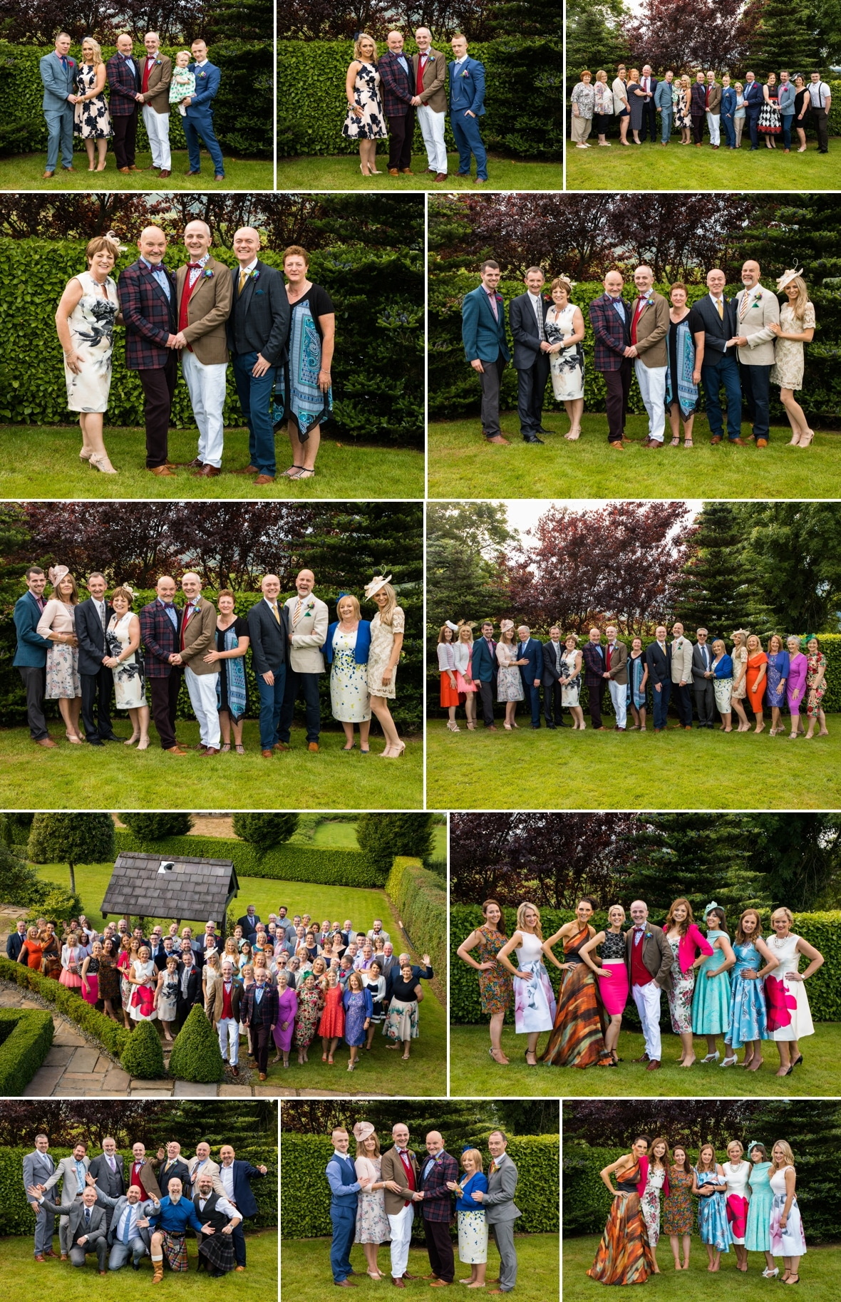 Family Wedding photographs 8
