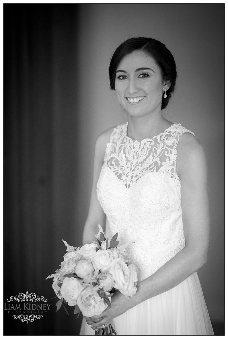 Stunning Bridal Portrait in Bloomfield House Hotel