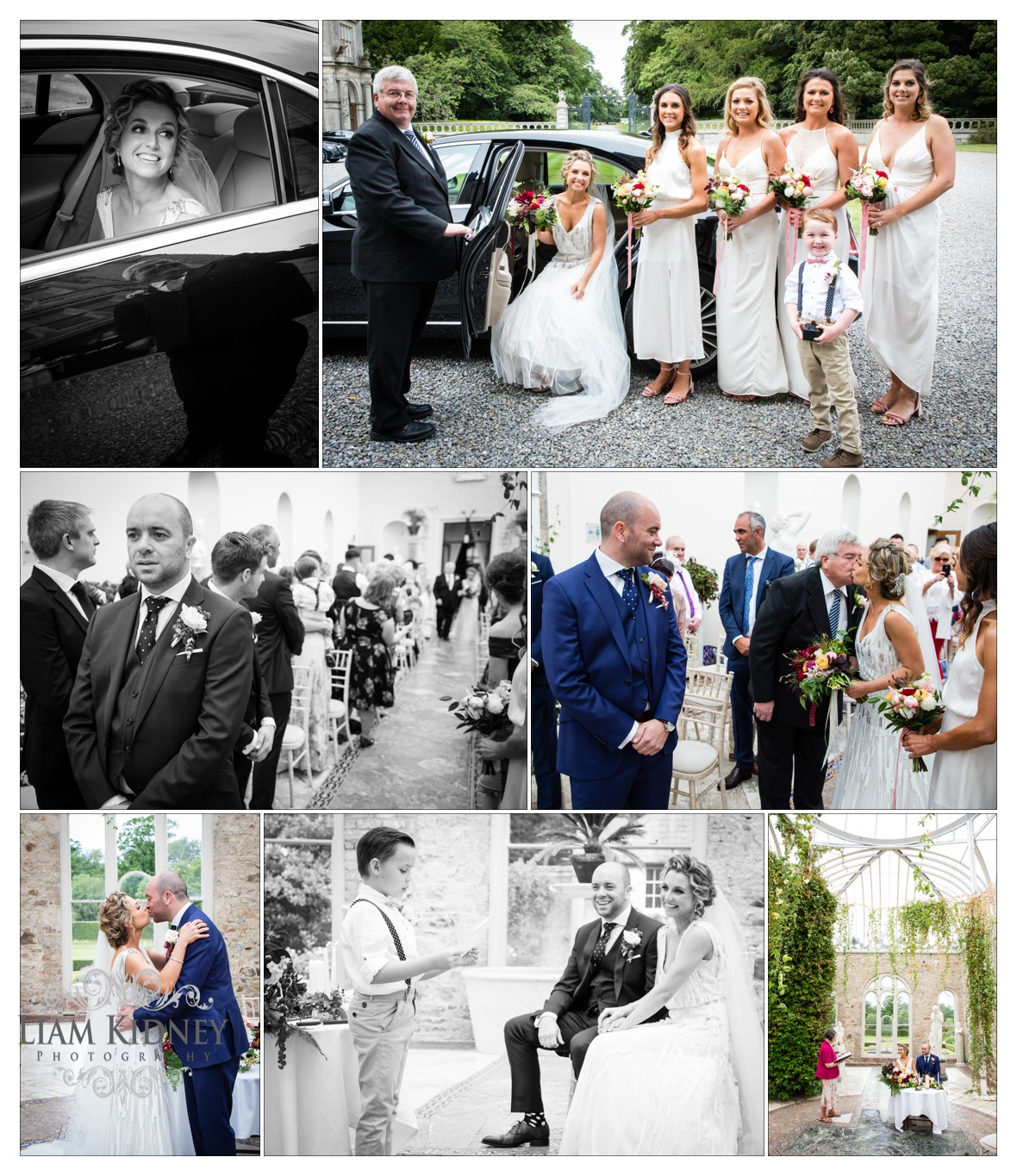 Wedding Ceremony in the Orangery in Killruddery House Wedding