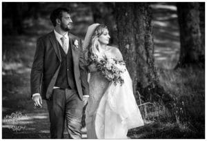 Sarah And Torin in Glasson Country House Hotel Wedding