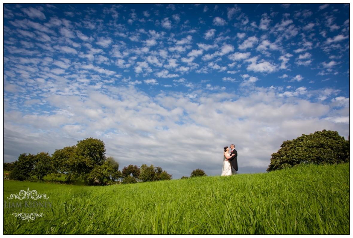 Beautiful Photo of Lisa and James at their Galway Wedding