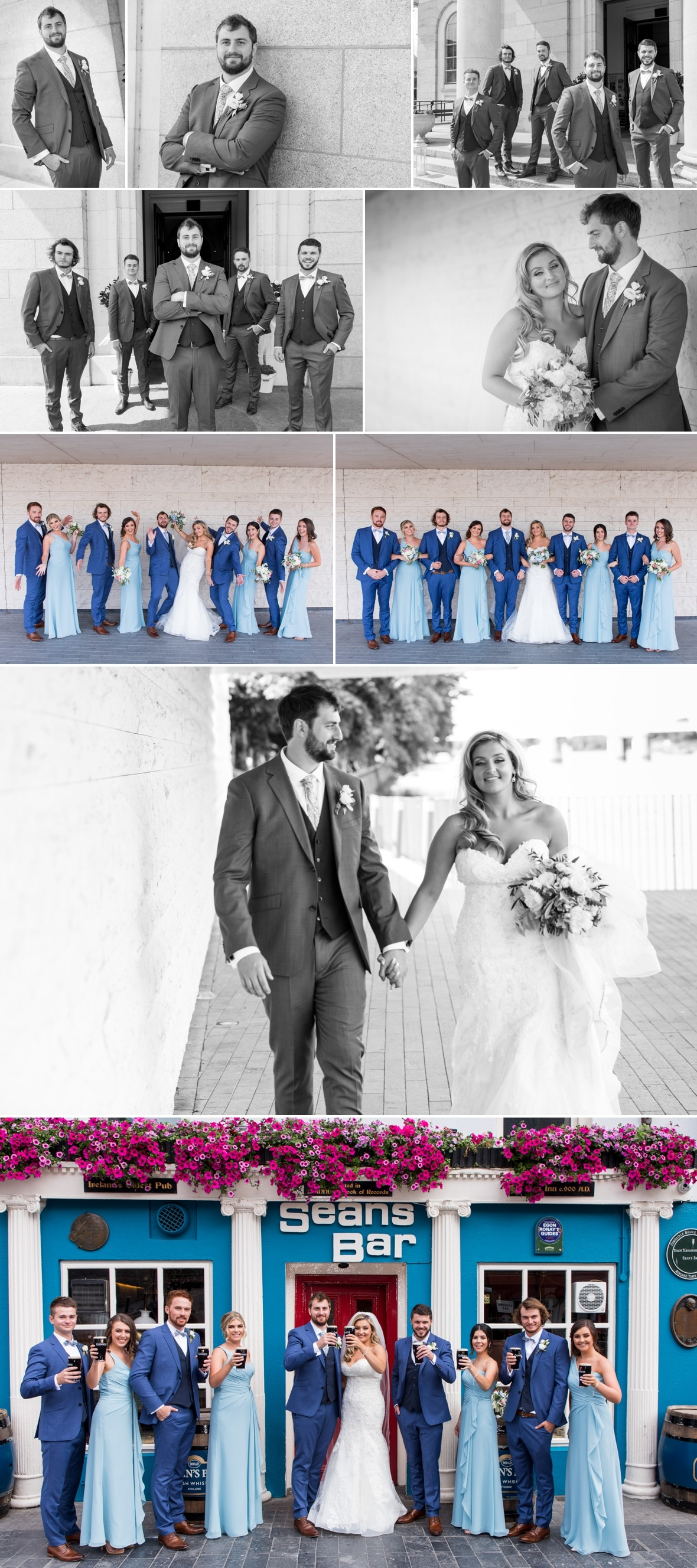 Summer Wedding of Sarah and Torin in Athlone