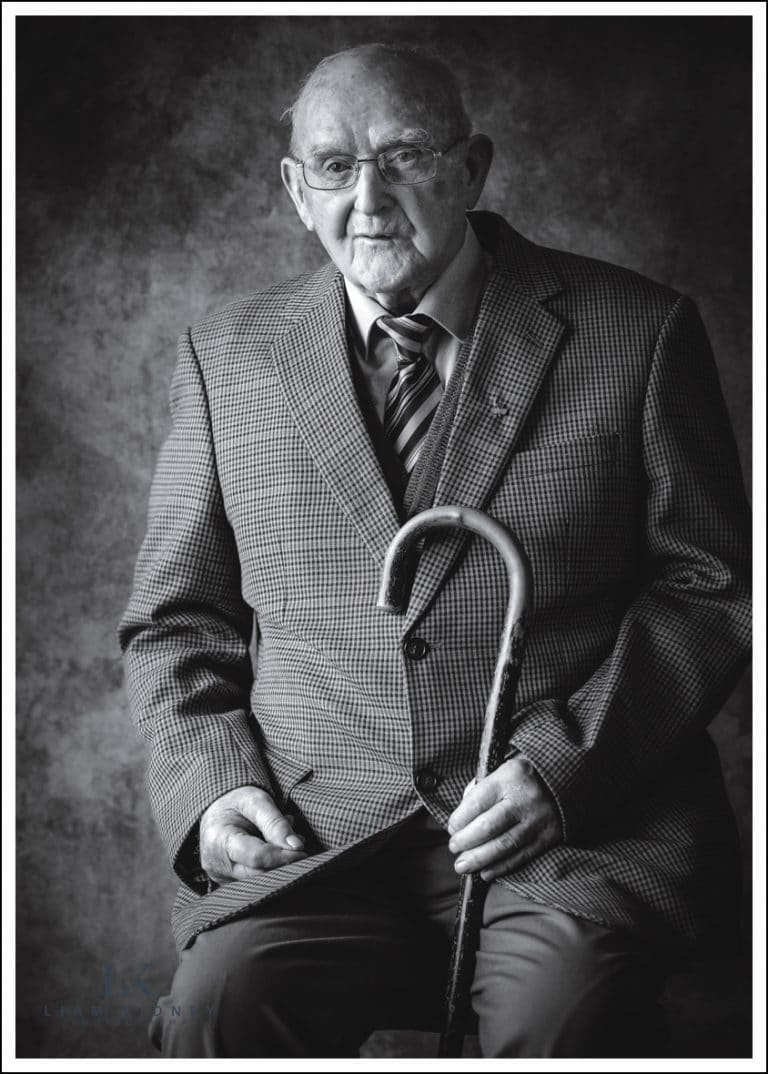 Irish Portrait Photographer- Dan's 101st Birthday