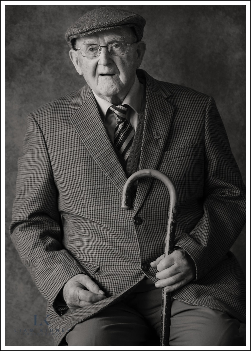 Dan Moran on his 101st Birthday