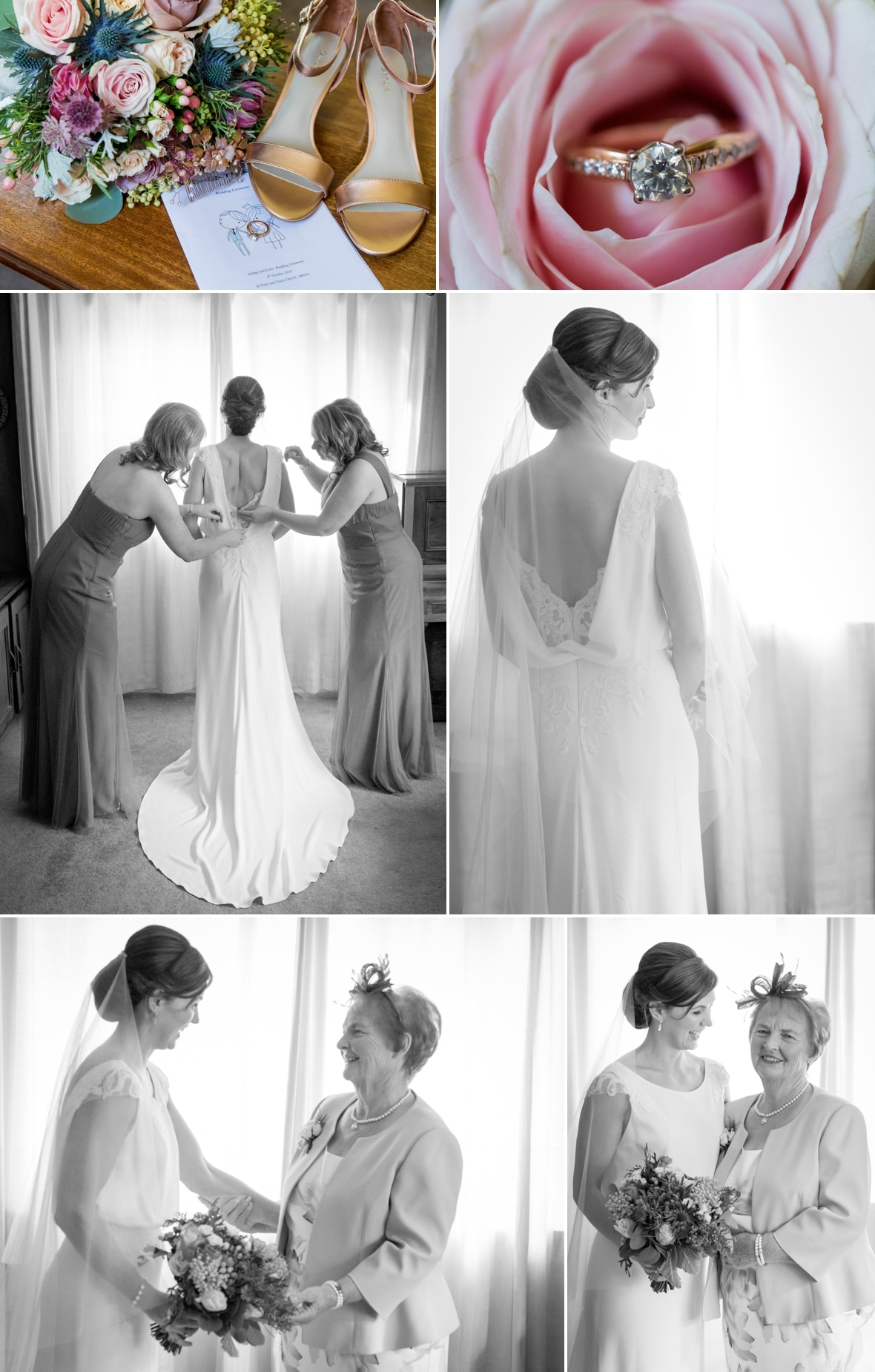 Bridal preparations Westmeath Wedding Photography