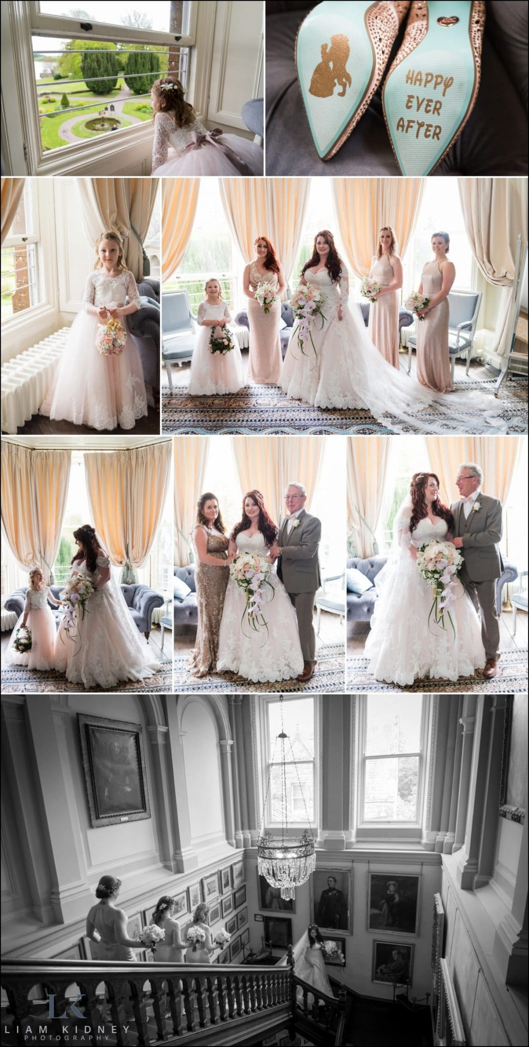 Castle Leslie Estate Wedding Liam Kidney Photography