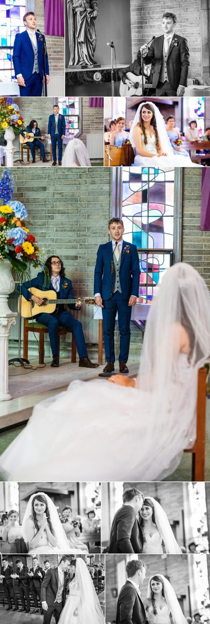 Claregalway Church Wedding Liam Kidney Photography